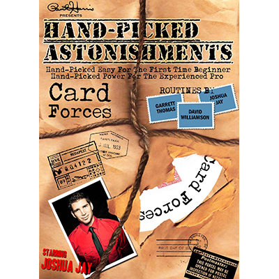 Hand picked Astonishments (Card Forces) by Paul Harris and Joshua Jay video DOWNLOAD