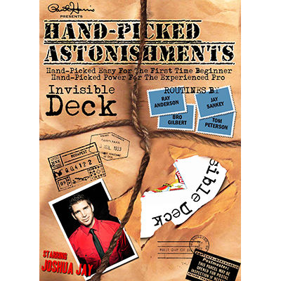 Hand-picked Astonishments (Invisible Deck) Video DOWNLOAD