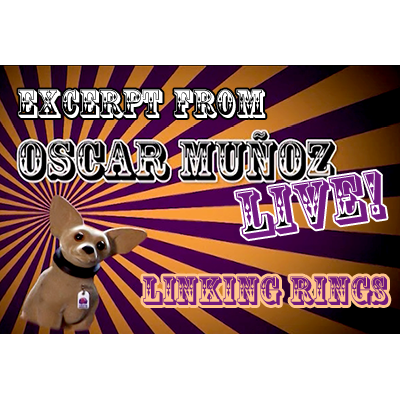 Linking Rings by Oscar Munoz (Excerpt from Oscar Munoz Live) vid