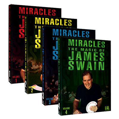 Miracles - The Magic of James Swain Set (Vol 1-4) Streaming Video