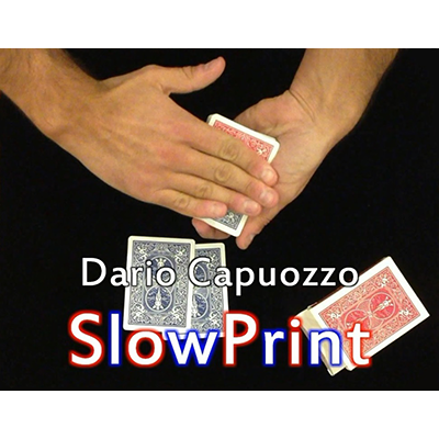Slow Print by Dario Capuozzo - Video DOWNLOAD