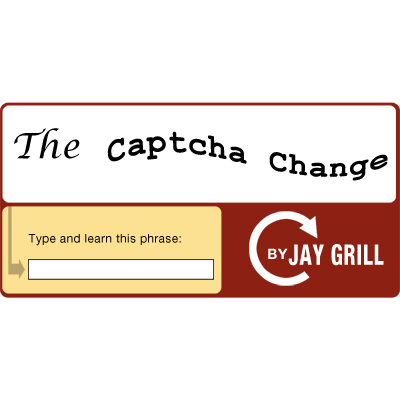 The Captcha Change by Jay Grill - Video DOWNLOAD