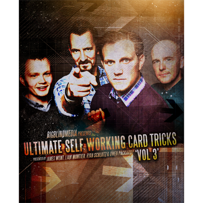Ultimate Self Working Card Tricks Volume 3 by Big Blind Media