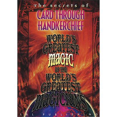 The Card Through Handkerchief (World's Greatest Magic) video DOW