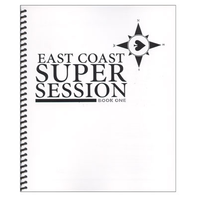 East Coast Super Sessions #1 - Book