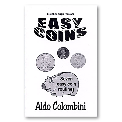 Easy Coins by Aldo Colombini - Book