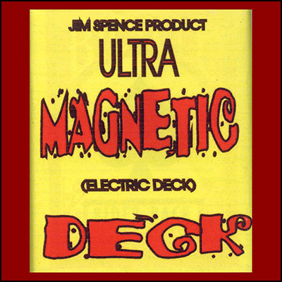 Electric Deck (RED) by Jim Spence Magic - Trick