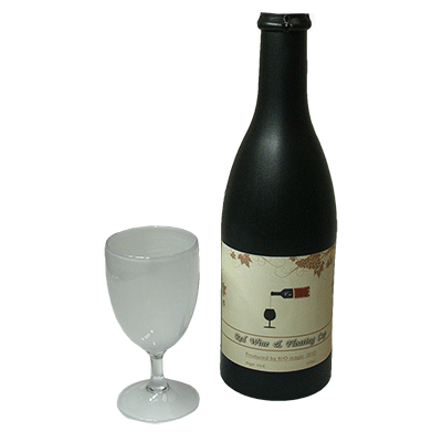 Electronic Airborne (Bottle & Stemmed Glass magnetic)