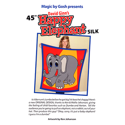 "Happy Elephant Silk (45"") by David Ginn and Goshman - Tricks"