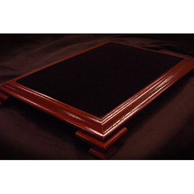 Elite Table Mahogany with Black Velvet (Large) by Subdivided Studios - Trick
