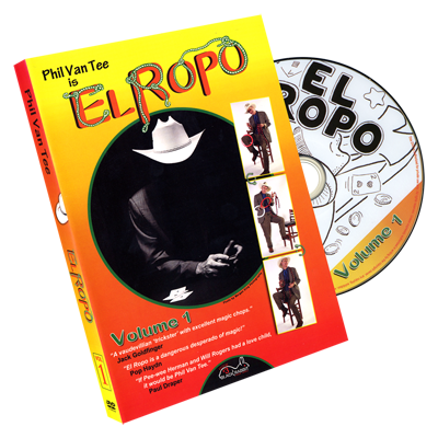 Phil Van Tee is El Ropo DVD Vol 1 - Phil Van Tee Black Rabbit Series Issue Vol 3 - DVD