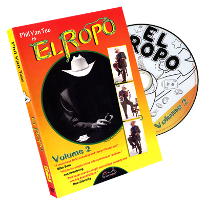 Phil Van Tee is El Ropo DVD Vol 2 - Phil Van Tee Black Rabbit Series Issue Vol 3 - DVD