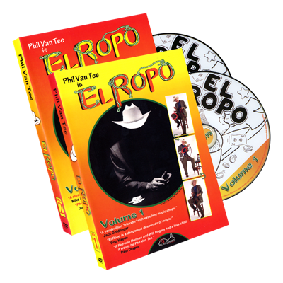 Phil Van Tee is El Ropo 2 Disc Set by Phil Van Tee Black Rabbit Series Issue #3 - DVD