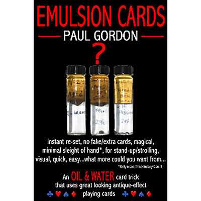 Emulsion Cards by Paul Gordon - Trick