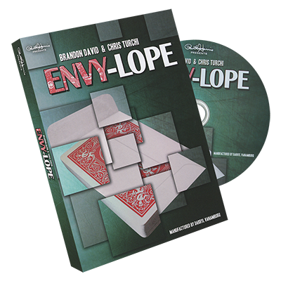 Paul Harris Presents Envylope by Brandon David and Chris Turchi - DVD