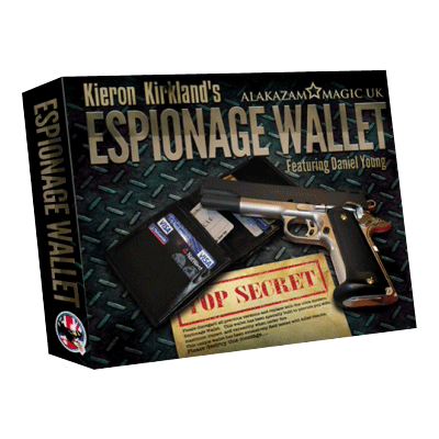Espionage Wallet by Kieran Kirkland and Alakazam Magic - Trick