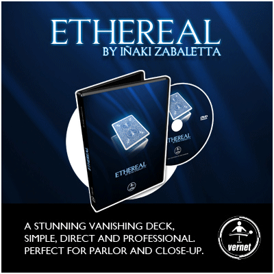 Ethereal Deck DVD (BLUE) by Vernet - DVD