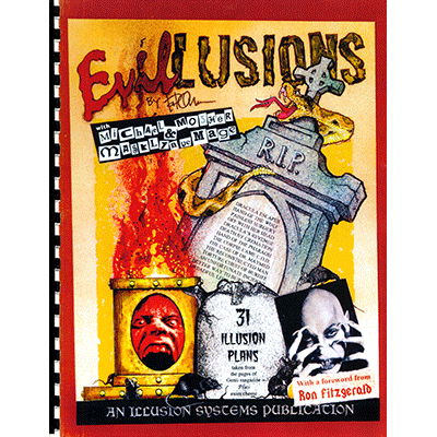Evil Illusions by Paul Osborne - Book