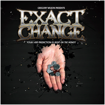 Exact Change by Gregory Wilson (DVD and Gimmick)