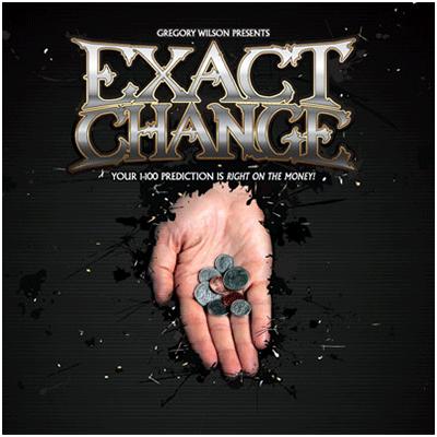 Exact Change - Gregory Wilson (DVD & Gimmick)