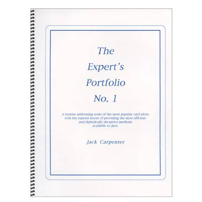 Expert's Portfolio by Jack Carpenter - Book