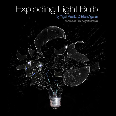 Exploding Light Bulb - Yigal Mesika