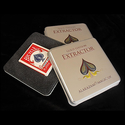 Extractor Red Cards(Gold Edition) by Rob Bromley and Peter Nardi and Alakazam Magic - Trick