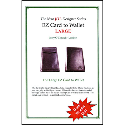 EZ Wallet (Large) by Jerry O'Connell JOL - Trick