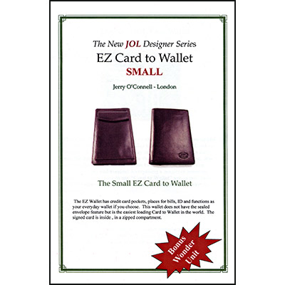EZ Wallet (Small) by Jerry O'Connell and PropDog - Trick