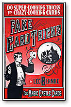 Fake Card Tricks by Leo Behnke