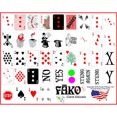 Fako Sheet by Imagin-If Magic - Trick