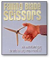 Falling Blade Scissors by Bazar de Magia - Trick