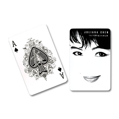 Fanning Cards (Black/White) by  Juliana Chen - Trick