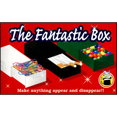Fantastic Box (Black) by Vincenzo Di Fatta - Trick