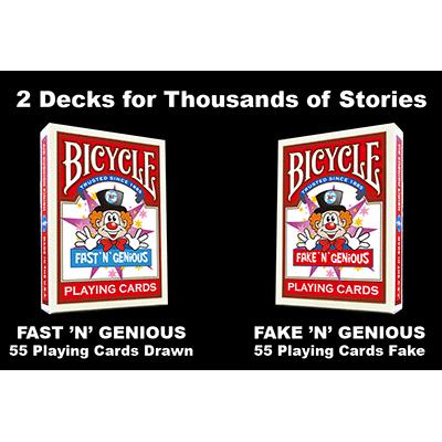 Fast N Genious / Fake N Genious Deck Combo Set - So Magic