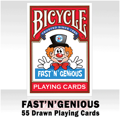 Fast 'N' Genious Deck by So Magic - Trick