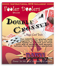 Double Crossed (with DVD) by Daryl - Trick