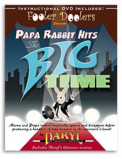 Papa Rabbit Hits the Big Time (with DVD) by Daryl - Trick