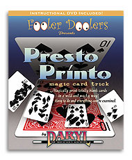 Presto Printo (with DVD) by Daryl - Trick