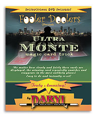 Ultra Monte with DVD by Daryl - Trick