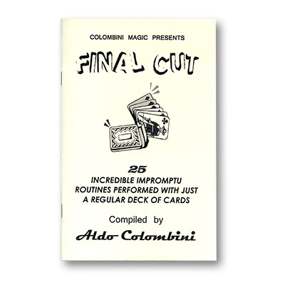 Final Cut by Wild-Colombini - Book