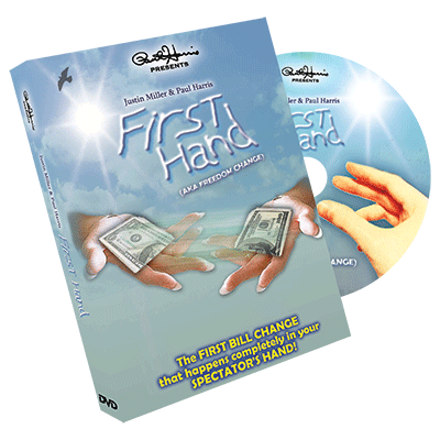 Paul Harris Presents First Hand (AKA Freedom Change) DVD & Gimmick - Justin Miller