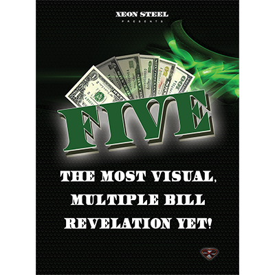 Five (DVD & Gimmicks) by Xeon Steel  - Trick