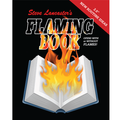 Flaming Book (Blanco)