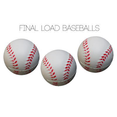 "Final Load Base Balls 2.5"" (3pk) - - Big Guys Magic"
