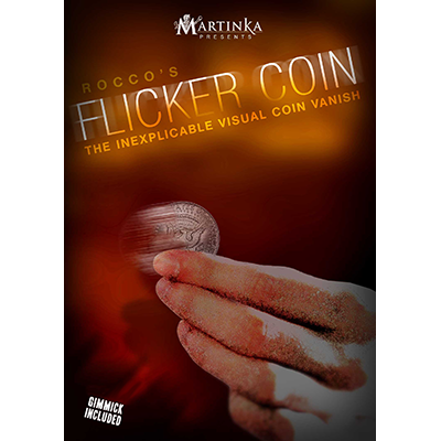 Flicker Coin (Half) by Rocco - Trick