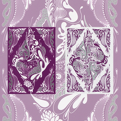 Floral Deck (purple) by Aloy - Trick