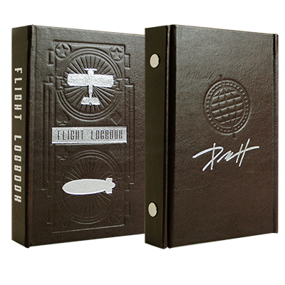 The Flight Decks (Red and Blue) plus Logbook