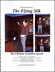Flying Silk book with thread by Christopher Brent