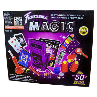 Most  Unbelievable Magic Set - Fantasma magic (Gung Ho Box, Cups & Balls, Penetration frame)